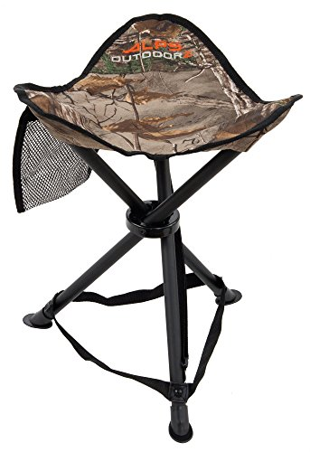ALPS OutdoorZ Tri-Leg Hunting Stool, Realtree Edge