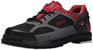 Dexter Mens The 9 Mens HT Blk/Gry/Red Size 10.5 DP0000192-M105, Black/Red/Grey, Size 10.5