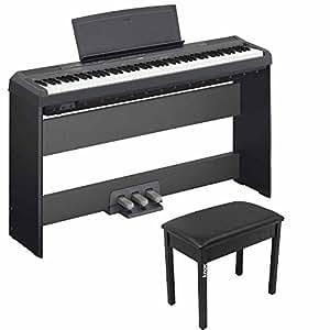 Yamaha p115b 88 weighted keys digital piano w for Yamaha piano pedal unit