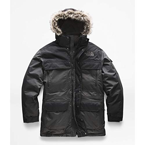 (The North Face Men's McMurdo Parka III - Asphalt Grey & TNF Black -)