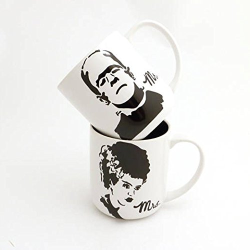 Mr and Mrs Frankenstein Mug - Usps Charges International