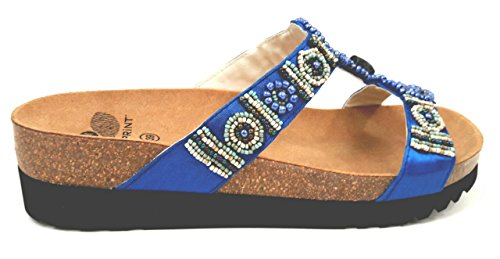 Por Mujer Estar Turquesa Azul Casa Dr 39 De Zapatillas Scholl Para UfqwnIS7x