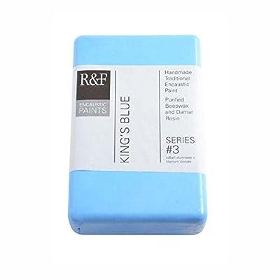 R&F Encaustic 333ml Paint, King's Blue