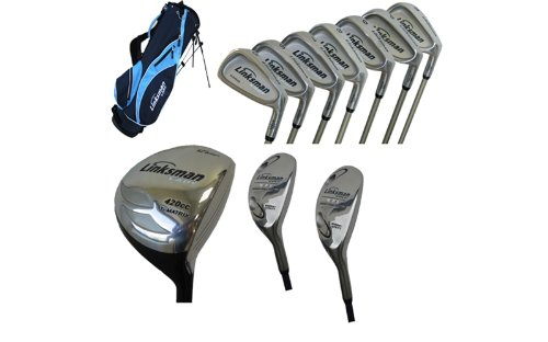 Linksman Golf X7 Ladies -1″ Left Handed Complete Golf Set with Stand Bag, Outdoor Stuffs