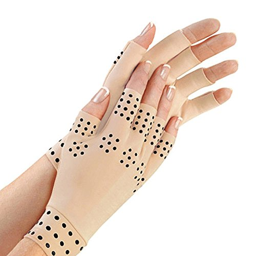 Magnetic Anti-Arthritis Therapeutic Therapy Dispensing Gloves Relief Hand Pain Heal Joints (Ergonomic Therapeutic Support Gloves)