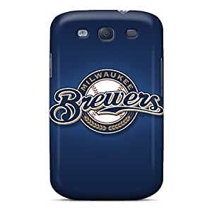 Defender Case For Galaxy S3, Milwaukee Brewers Pattern