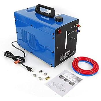 TIG Welder Water Cooler 110V/50HZ Tig Water Welder Torch Powerful Cooler Welding Machine Blue 10L Single Phase Manual