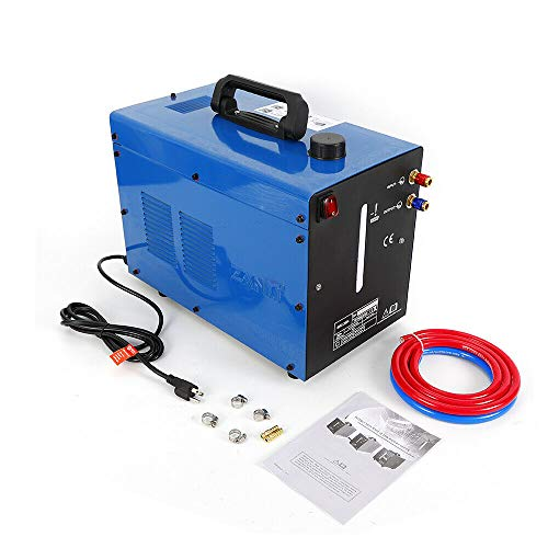 WINUS 370W 110v TIG Welder Torch Water Cooling System Cooler Water Cooler Welding Machine 10L Single Phase Manual US Stock
