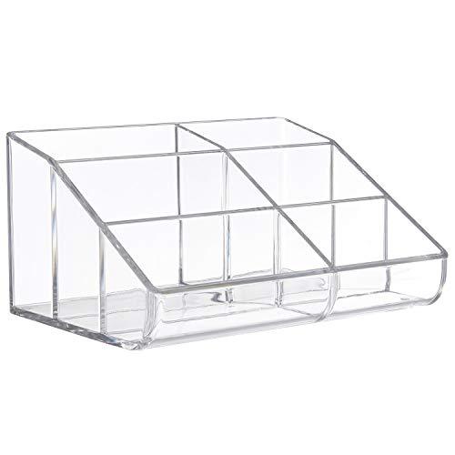 STORi Clear Plastic Desktop Organizer