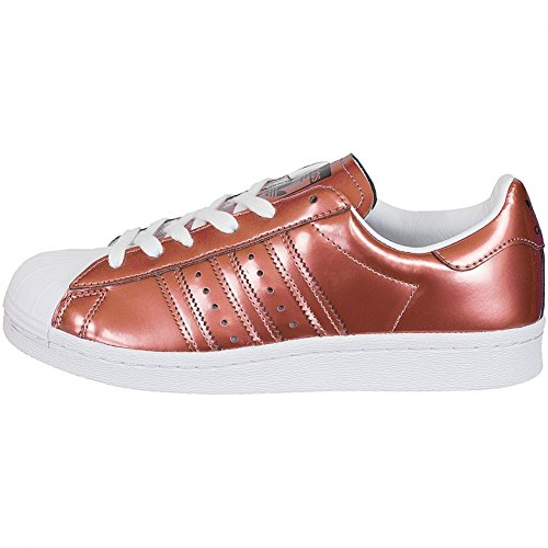 Unbekannt Femme Copper Weiß Blanc White Pour Metallic Baskets Running rO6nqXrT