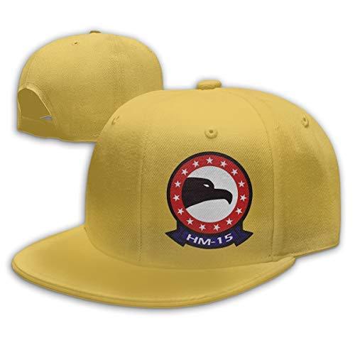JIMSTRES HM-15 Blackhawks Patch Adjustable Cotton Baseball Cap ...