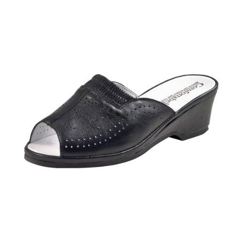 Comfortabele Damesslippers Zwart Zwart