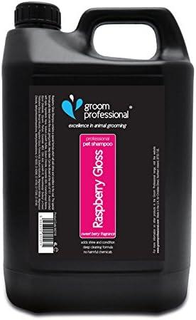 Groom Professional Raspberry Gloss Shampoo 4 Litre