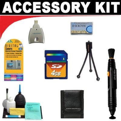 4GB Deluxe DB ROTH Accessory KitFor The RCA EZ300HD for sale  Delivered anywhere in USA