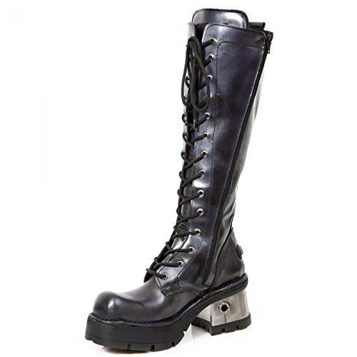 New Rock Laarzen M.236-r3 Gothic Hardrock Punk Damen Stiefel Lila