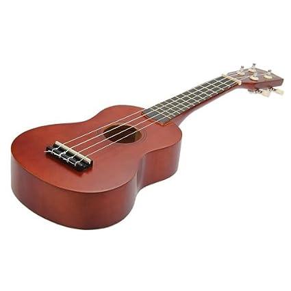 SODIAL(R) Marron 21 pulgadas Soprano Ukulele Instrumentos Musicales Nueva: Amazon.es: Juguetes y juegos