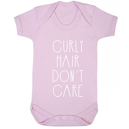 (Illustrated Identity Curly Hair Don't Care Vest Boys Girls Baby)