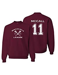 Adult Adult Teen Wolf McCall Crew Neck Pullover