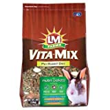 L/M Animal Farms SLM12687 6-Pack Vita Mix Rabbit Diet Food, 4-Pound