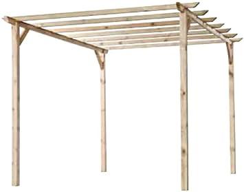 Pergola tettoia de madera 3 x 4 x 2,4 millones de toneladas ...