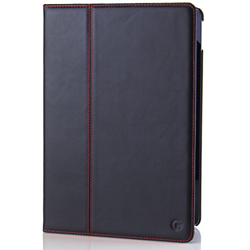 iPad Pro (10.5 inch display) Case / Cover by Casemade Luxury Real Italian Leather for the Apple iPad Pro (Black) (Real Apple)