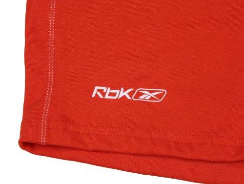 Reebok para mujer Athletic pantalón corto para rendimiento Anaranjado
