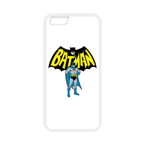 "Fayruz - iPhone 6 Rubber Cases, Batman Hard Phone Cover for iPhone 6 4.7"" F-i5G285"