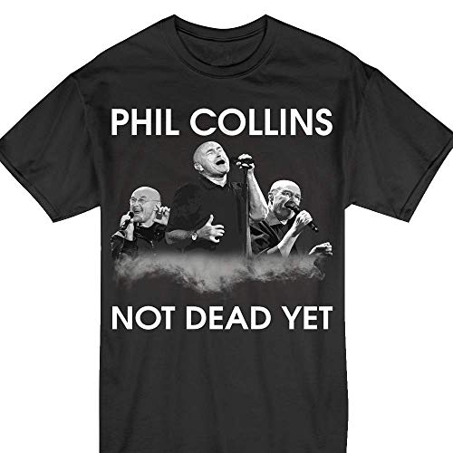 Phil-Collins Shirts Live Not Dead Yet 2018 T-Shirt (Phil Collins Not Dead Yet Tour Usa)