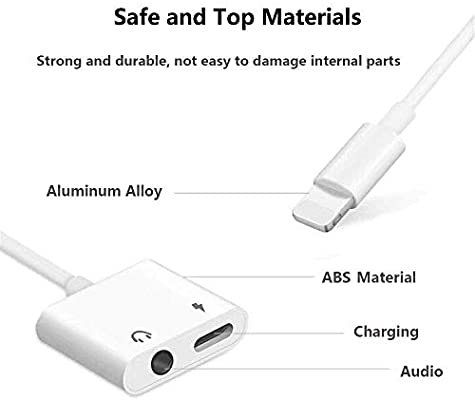 Amazon.com: [Apple MFi certificado] Cable adaptador de ...