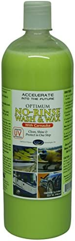 Optimum No Rinse Wash Wax With Carnauba 946ml Auto
