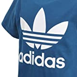adidas Originals Boys' Big Trefoil Tee, Legend