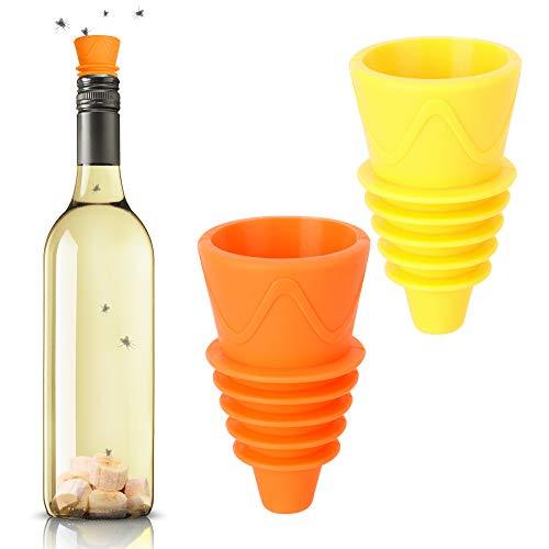 OFFENICE Fruit Fly Traps for Kitchens