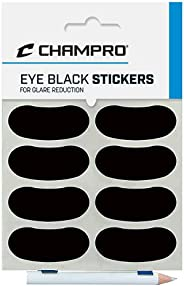 Football Accessories - Eye Black Stickers 1 PACK (12 Pairs)