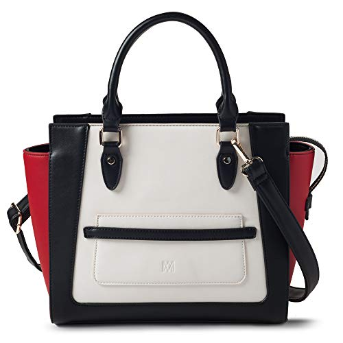 Buy red white black purse