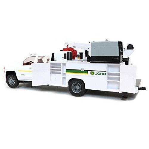 John Deere 1: 16 Big Farm Chevy 3500 Service Truck