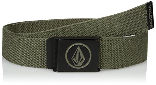 Volcom Men's Circle Web Belt, Military, One Size