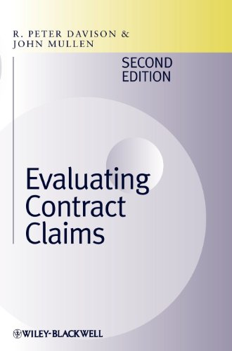 Evaluating Contract Claims by R Peter Davison