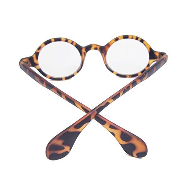 Agstum Retro Small Round Optical Prescription Eyeglass Frame | Jodyshop