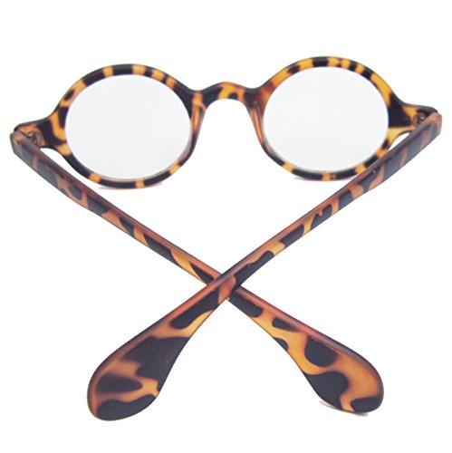 Agstum Retro Small Round Optical Prescription Eyeglass Frame