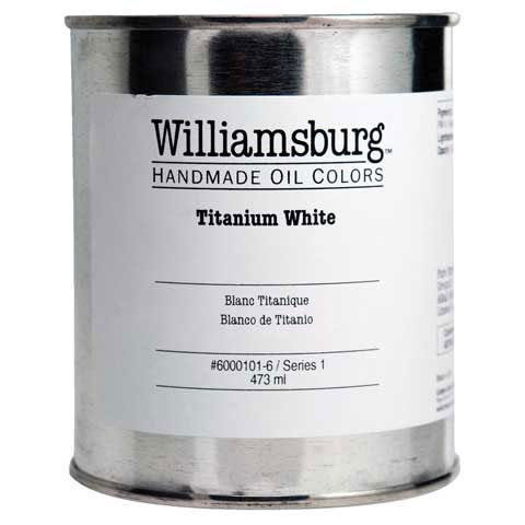 Williamsburg Handmade Oils - Williamsburg Handmade Oil Color - Pint Jar - French Terre Verte