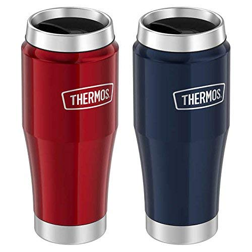 Thermos Stainless Steel Thermal Mug, 2-pack Red