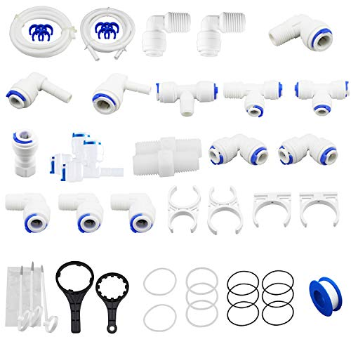 - Geekpure Accessories Set Parts Kit for Reverse Osmosis System (1/4