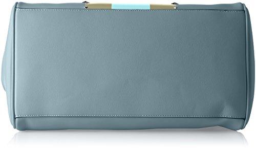 Trussardi Jeans Blondie, Borsa Tote Donna, 40x43x23 cm Blu (Light Blue)