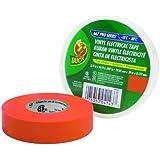 Duck Brand 299005 Professional Grade Electrical Tape, 3/4-Inch by 66 Feet, Single Roll, Orange