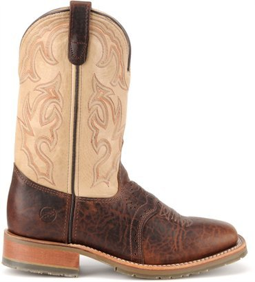 Double H DH4305 10 Inch Wide Square Toe ICE Western Roper (Double H Western Work Boots)