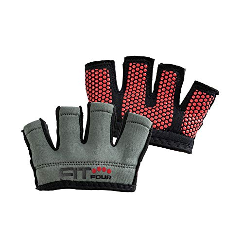 Fit Four OCR Neo Grip Gloves Obstacle Course Racing &