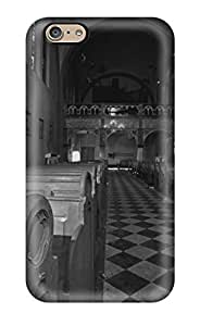 Case Cover Abandoned Monastery/ Fashionable Case For Iphone 6