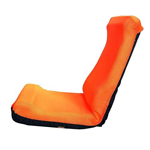 LJFYXZ Sillón Reclinable Ajuste de 6 velocidades Silla Plegable Individual Malla Transpirable Sentada cómoda Silla para el...