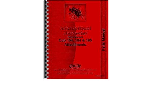 CUB LO BOY 154 185 184 INTERNATIONAL 3142 MOWER PARTS MANUAL