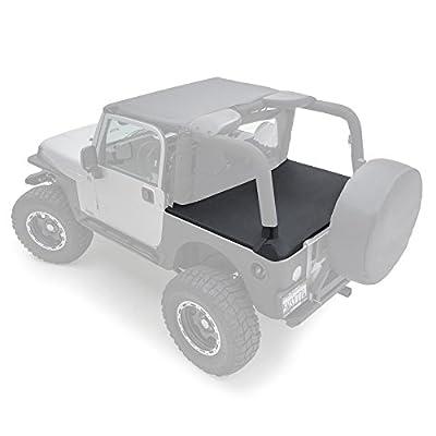 Smittybilt 761035 Tonneau Cover for 1997-2006 Jeep Wrangler TJ, Black Diamond: Automotive
